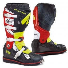 TERRAIN TX homologuee CE BLACK/ YELLOW FLUO / RED