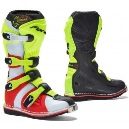 COUGAR homologuee CE BLACK/ YELLOW FLUO/ RED