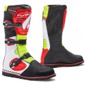 BOULDER homologuee CE WHITE/ RED/ YELLOW FLUO
