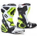 ICE PRO FLOW homologuee CE WHITE/ BLACK/ YELLOW FLUO