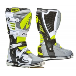 PREDATOR 2.0 homologuee CE GREY/ WHITE/ YELLOW FLUO
