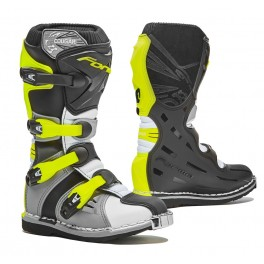COUGAR homologuee CE GREY/ WHITE/ YELLOW FLUO