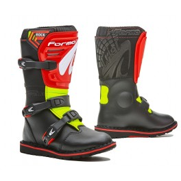 ROCK homologuee CE BLACK/ RED/ YELLOW FLUO