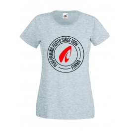 TEE-SHIRT LADY FORMA GREY