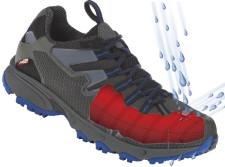 chaussure avec membrane outdry